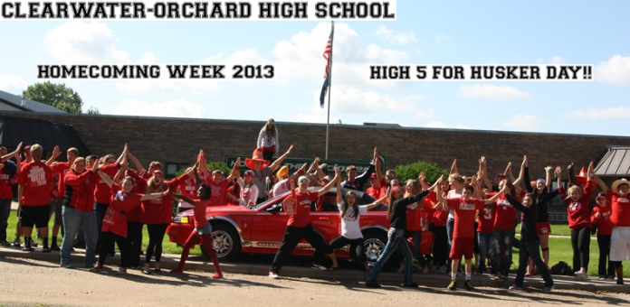 Clearwater/Orchard High School Students Homecoming 2013