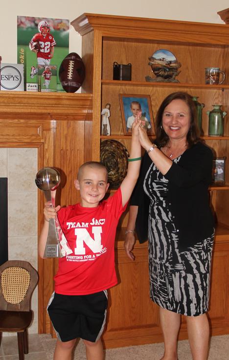 He not only won our hearts but also an ESPY. Here's Jack Hoffman & Senator Deb Fischer