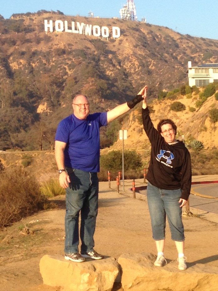 Hooray for Hollywood and Hooray for High 5 Friday!  Here's Tara & Bill Price!!