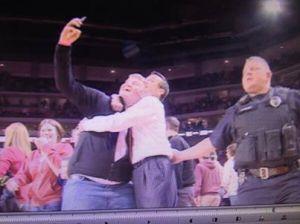 Tom Chvala & Coach Miles celebrate a big win!